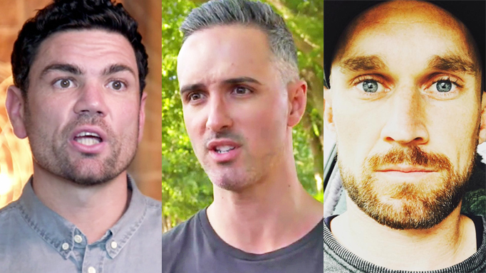 Married At First Sight Andrew, Anthony, and Jono Pitman