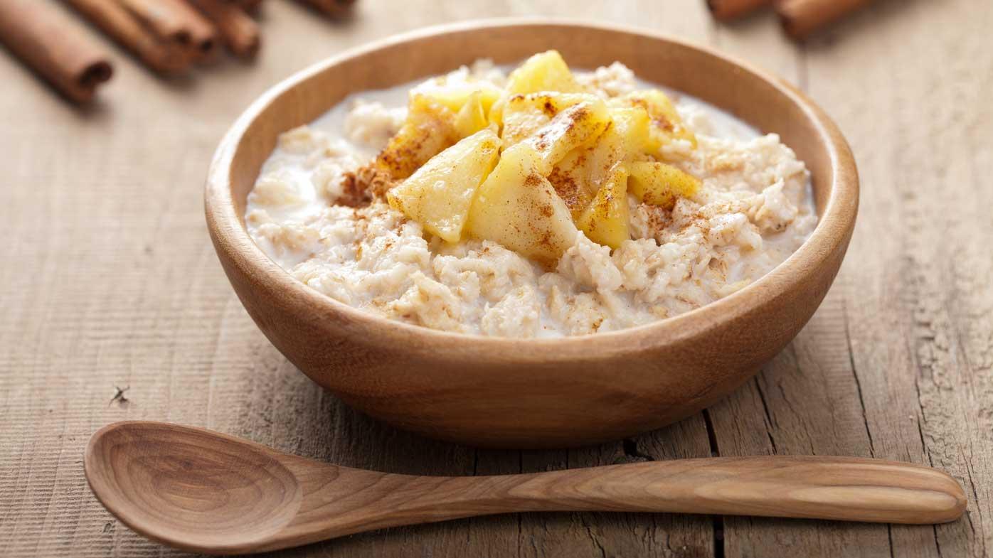 Apple porridge recipe as featured in Shape Me by Susie Burrell