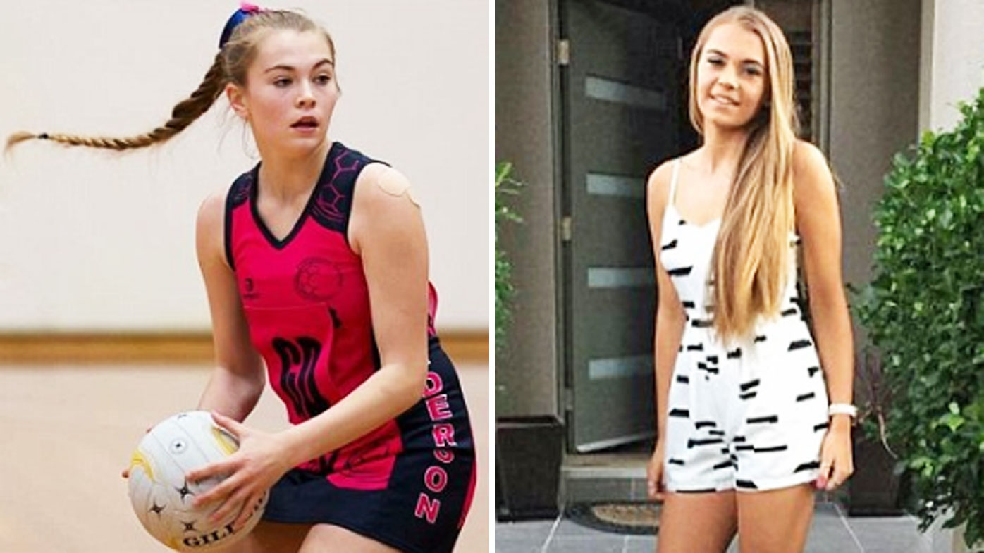 Victorian schoolgirl battles brain tumour discovered after netball fall