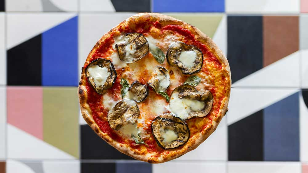 Pizza offering at Agostini, Canberra. Image: Supplied