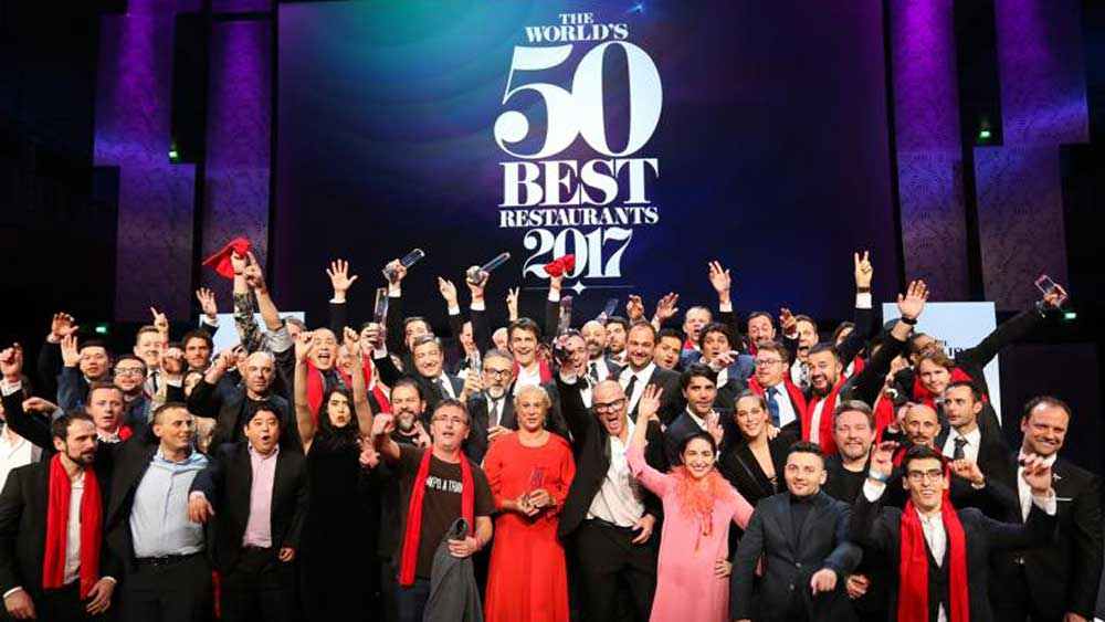 World's 50 Best Restaurants awards 2017