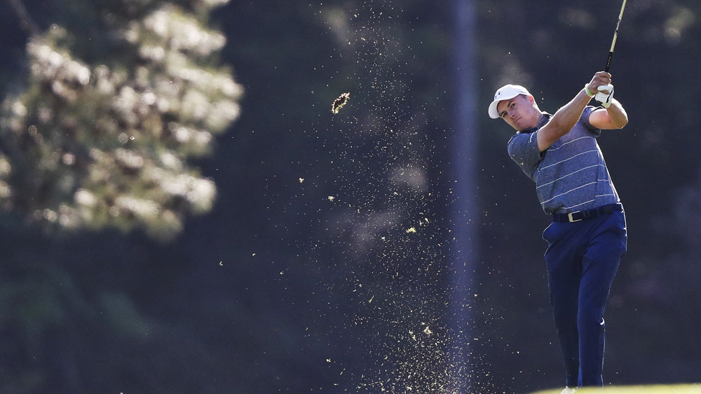 <strong>Spieth hits back</strong>