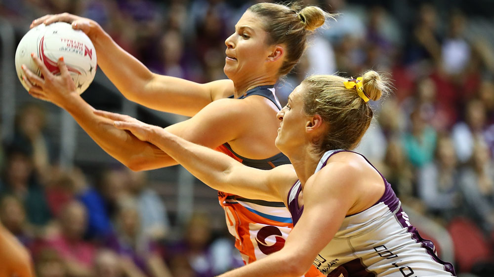 Giants extend lead on Super Netball ladder