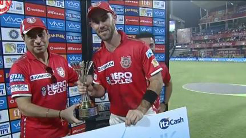 Glenn Maxwell had a great day in the Indian Premier League.
