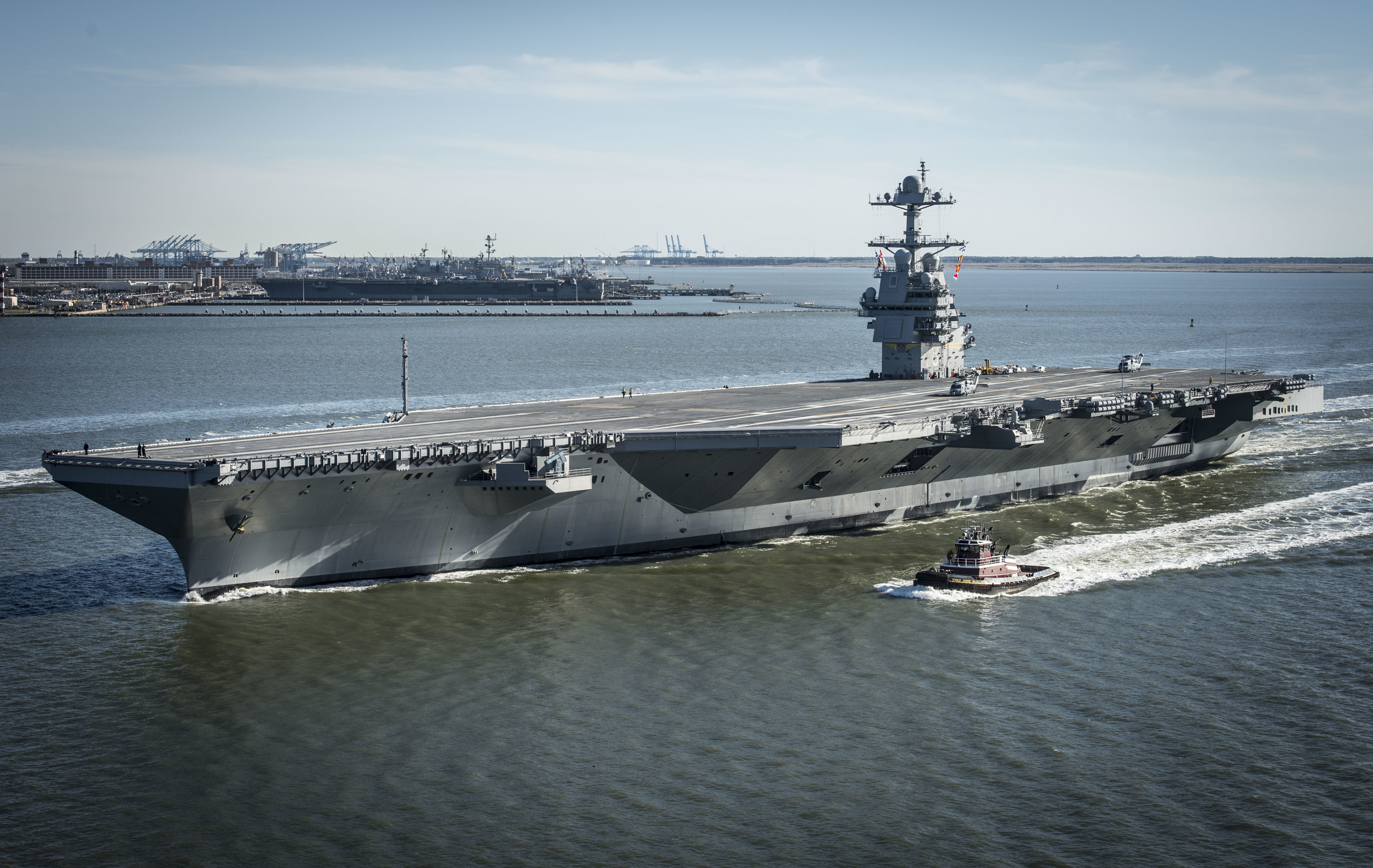 <strong>USS Gerald R. Ford</strong>