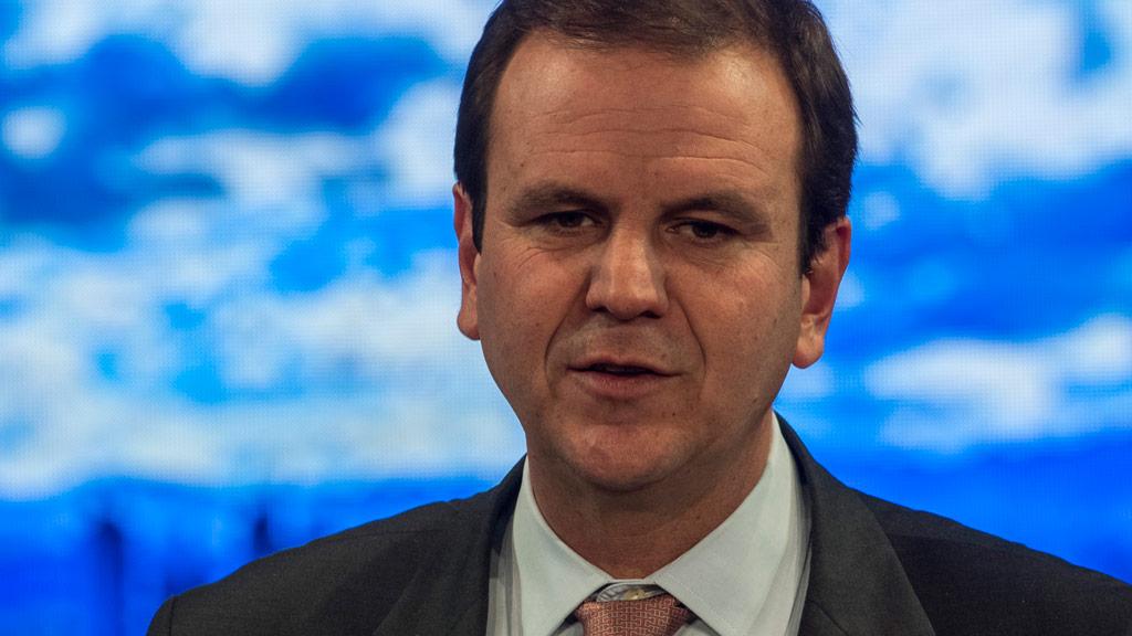 Former Rio de Janeiro Mayor Eduardo Paes. (AFP)
