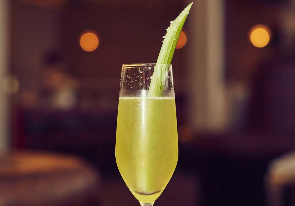Champs de Lyse breakfast cocktail