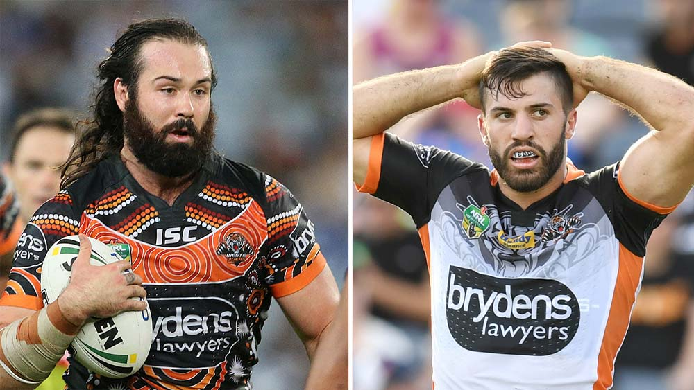 Wests Tigers to lose NRL stars James Tedesco, Aaron Woods