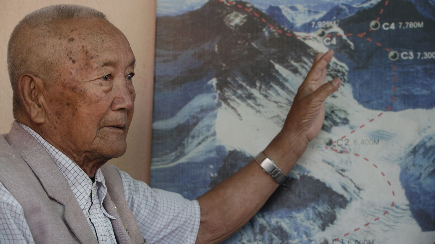 Nepalese man wants to become oldest person to Climb Mount Everest
