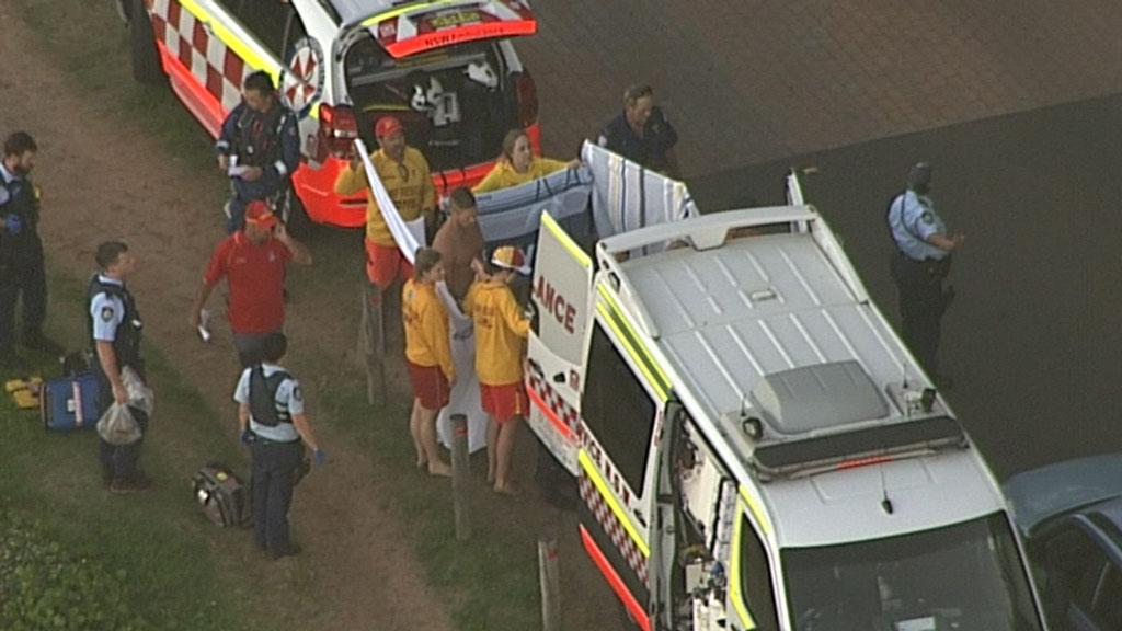 The man died at the scene. (9NEWS)