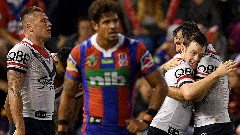 Sydney Roosters five-eighth Luke Keary's magic ends sinks Newcastle Knights