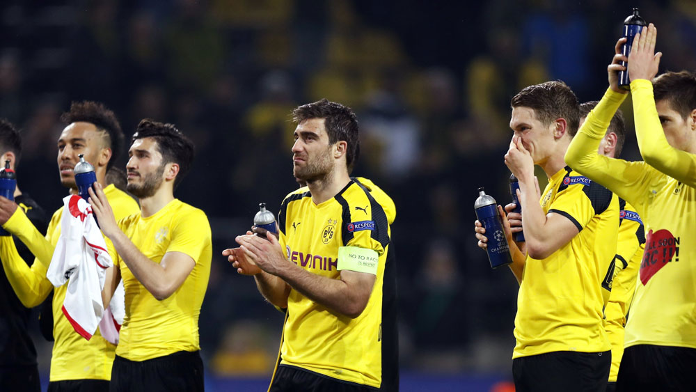 Borussia Dortmund chief considered Champions League withdrawal