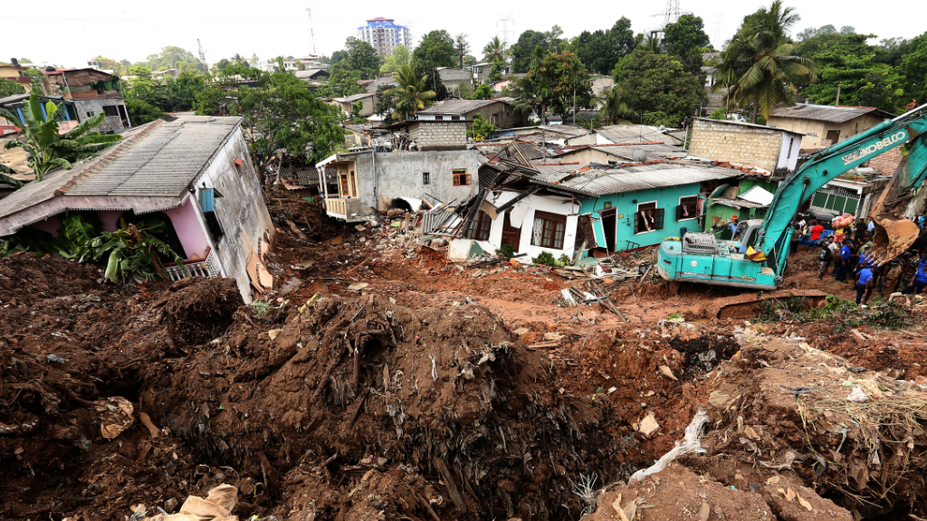 At least 19 people were killed in the collapse. (AFP)