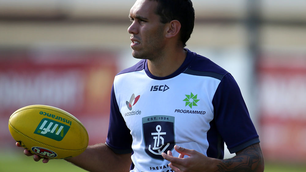 Fremantle Dockers player Harley Bennell is in hot water. (Getty Images)
