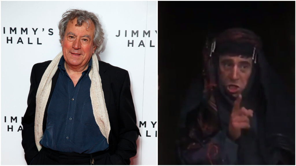 'Monty Python' star Terry Jones 'staying positive' despite dementia diagnosis