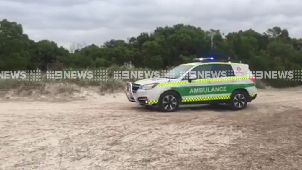 Laeticia was attacked by a shark near Esperance. (9NEWS)