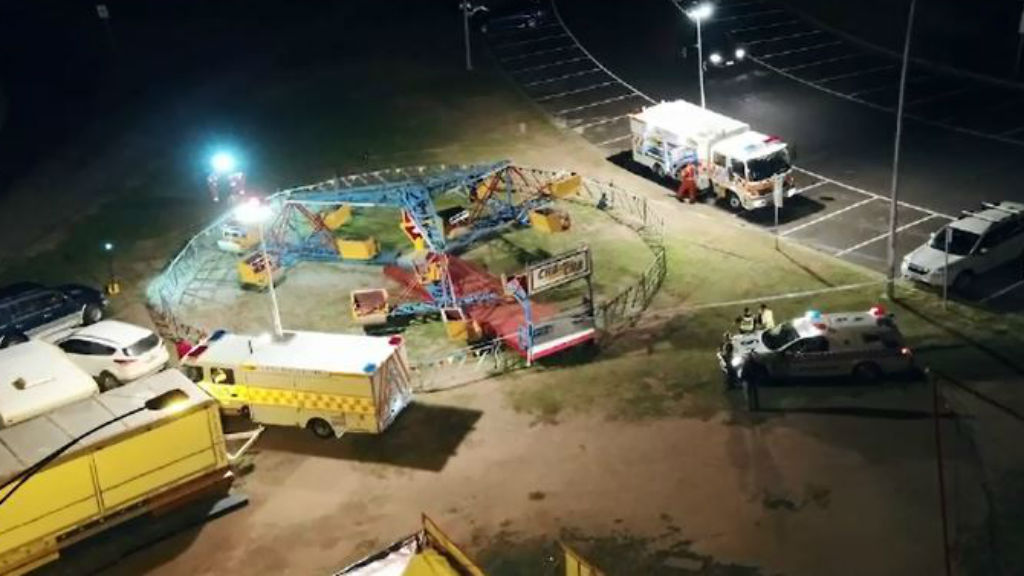 'Beautiful, energetic' six-year-old who fell from Easter carnival ride in Rye dies