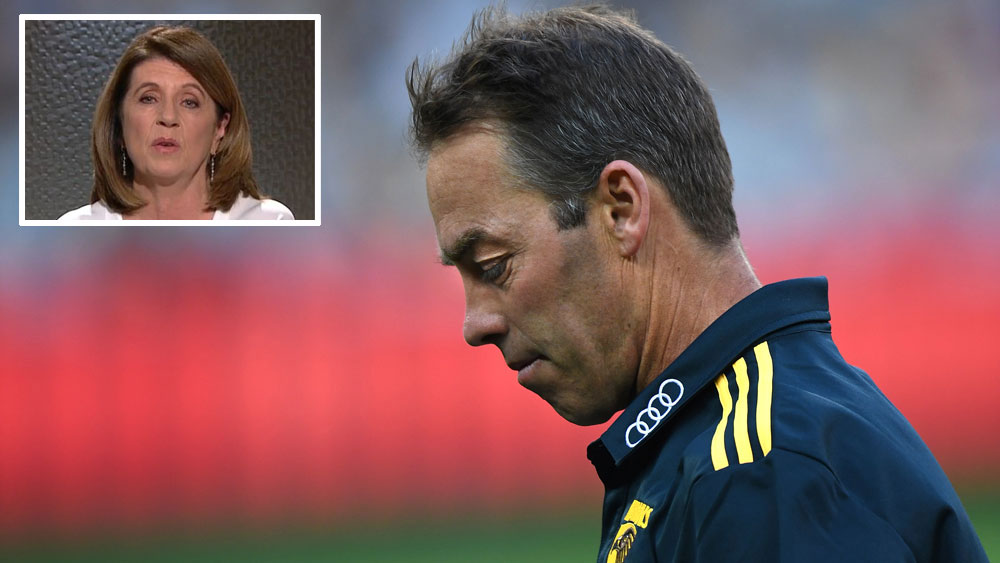 Footy Classified's Caroline Wilson says Hawthorn might be falling out of love with coach Alastair Clarkson