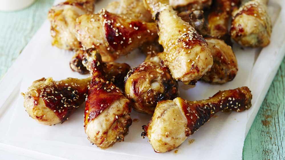 Asian style chicken drumsticks recipe