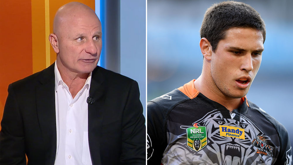 Channel Nine commentator Peter Sterling says Mitchell Moses should stay at Wests Tigers