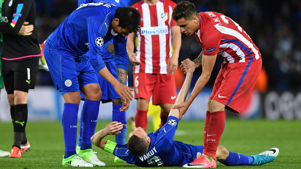 Atletico Madrid end Leicester's ECL run