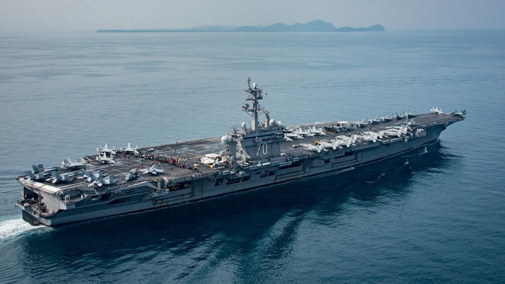 Donald Trump's threatened 'armada' still far away from the Korean Peninsula