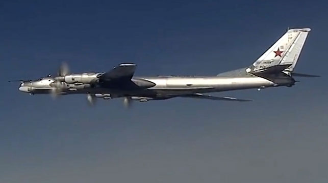 US fighter jets intercept Russian bombers off Alaskan coast