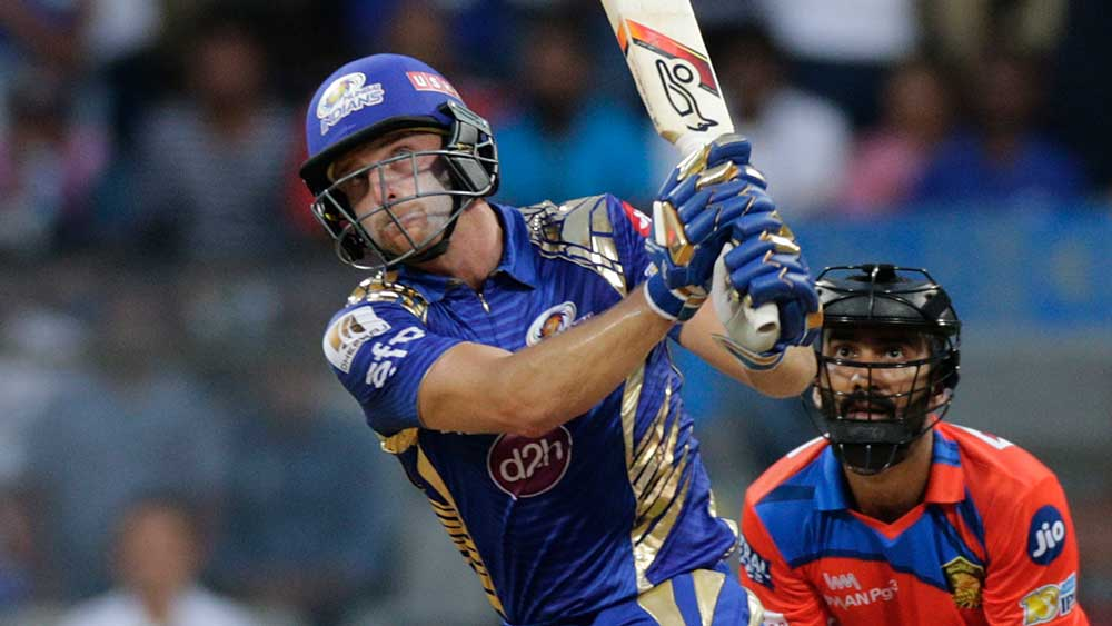 Jos Buttler proved to be a one-man wrecking ball against the Kings XI Punjab. (AAP)