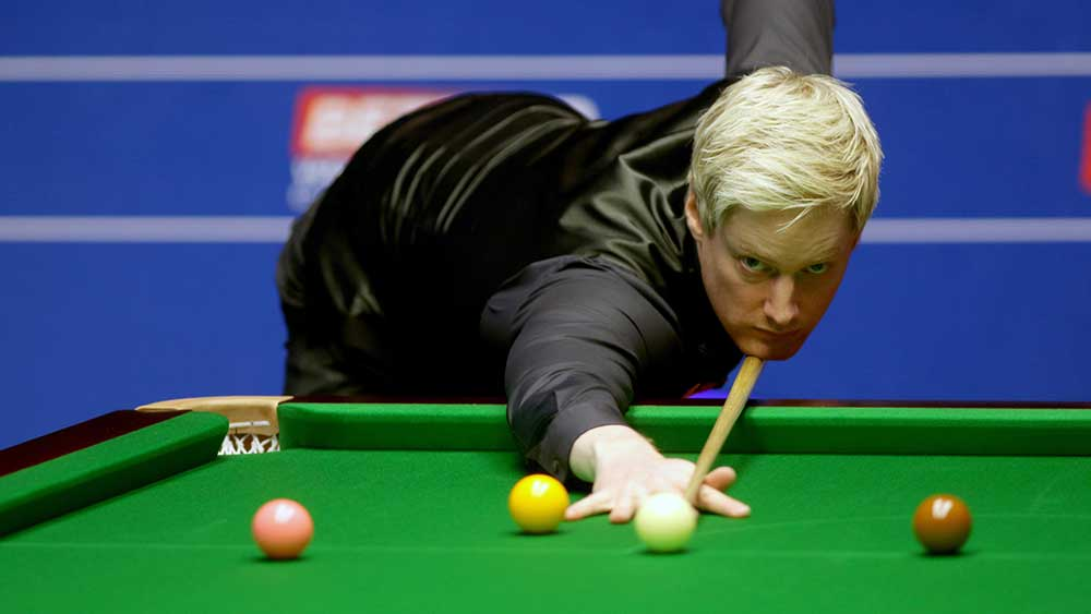 Former world champion Neil Robertson has blamed online gaming for his personal woes. (AAP)