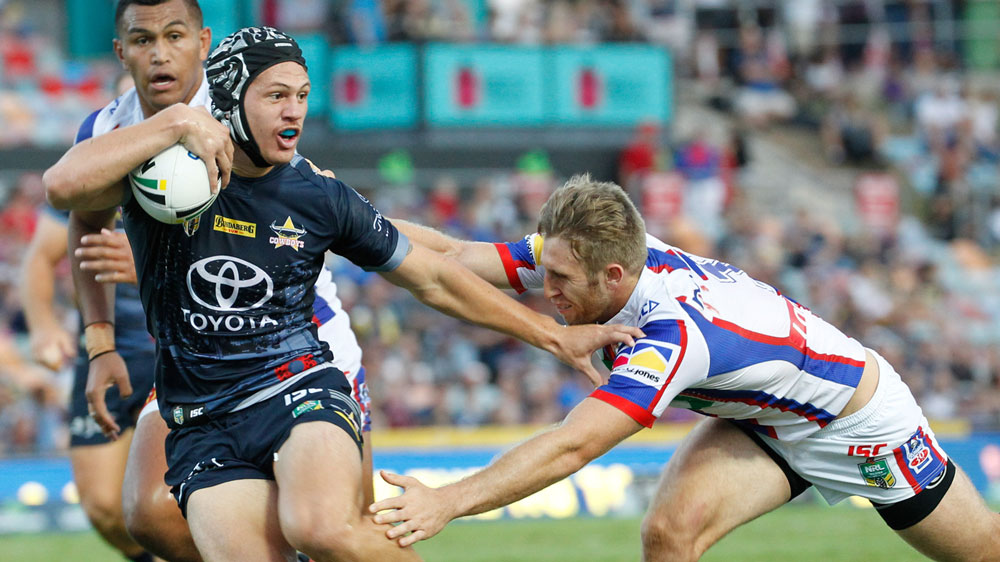 Cowboys overcome the Knights in NRL