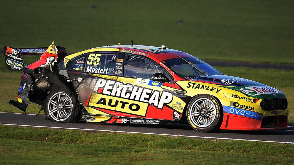 Supercars have brought in a rule to avoid another day of carnage. (Getty)