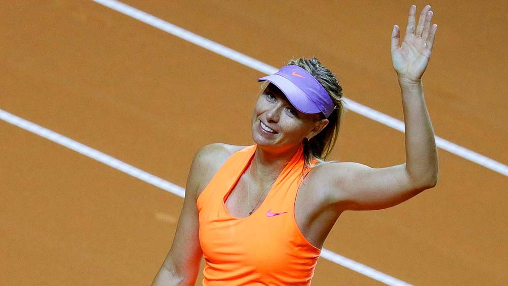 Maria Sharapova made a winning comeback to tennis from a doping suspension
