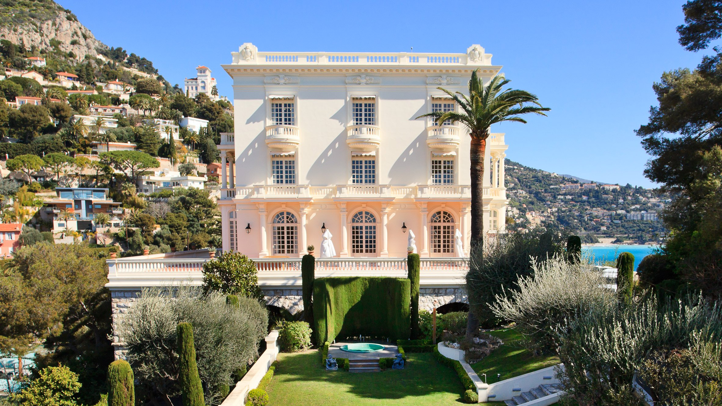 Check Out The Former Monaco Home Of Chanel Designer Karl