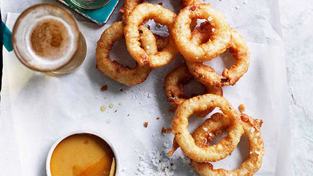 Classic onion rings