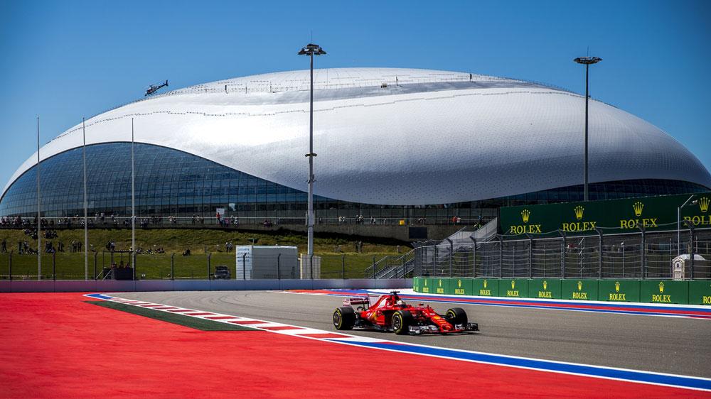 Sebastian Vettel leads Ferrari one-two in Sochi