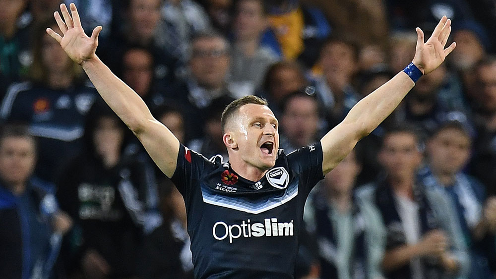 Melbourne Victory's Besart Berisha.