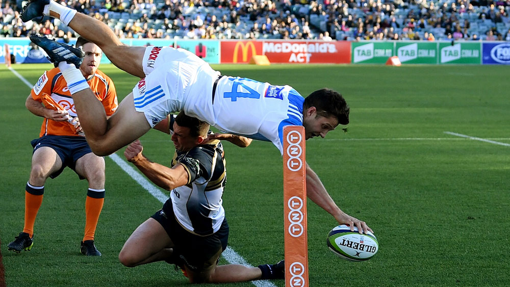Blues' Matt Duffie.