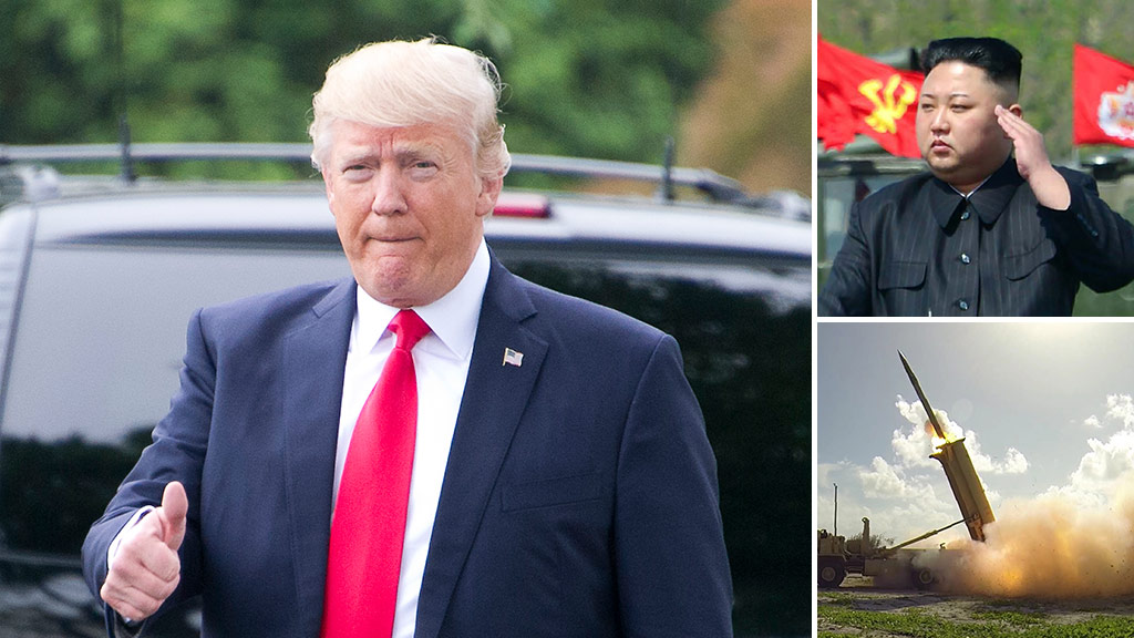 """US President Donald Trump has delivered a backhanded compliment to North Korean leader King Jong-Un during an appearance on CBS's """"Face the Nation"""" program. (AFP)"""