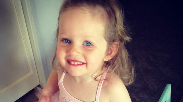 Cancer stricken toddler's only hope for survival rests with costly UK treatment