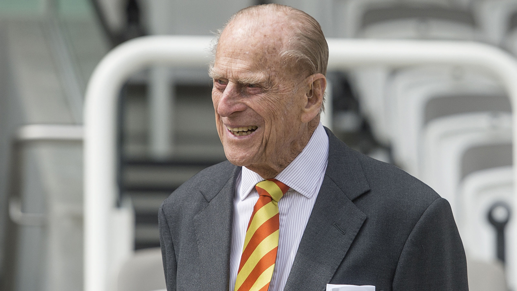 Prince Philip at Lord's Cricket Ground. (AAP)