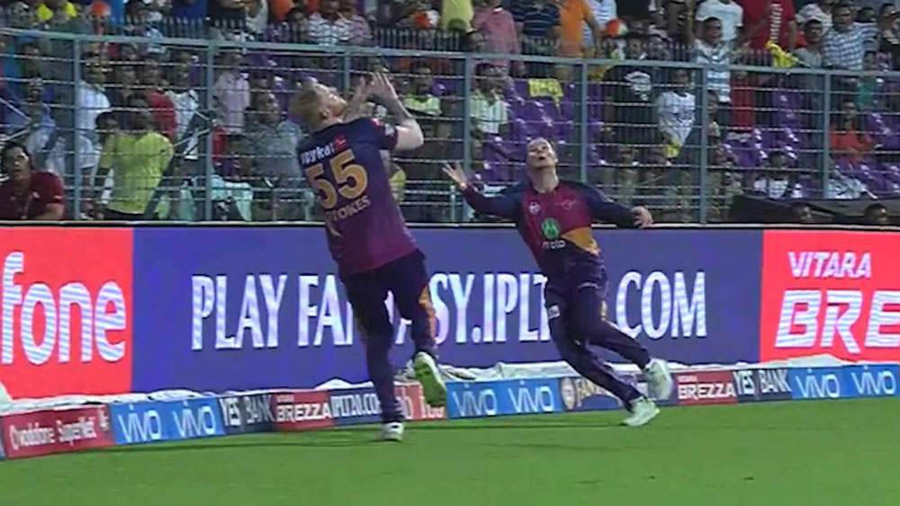Ben Stokes (l) and Steve Smith.
