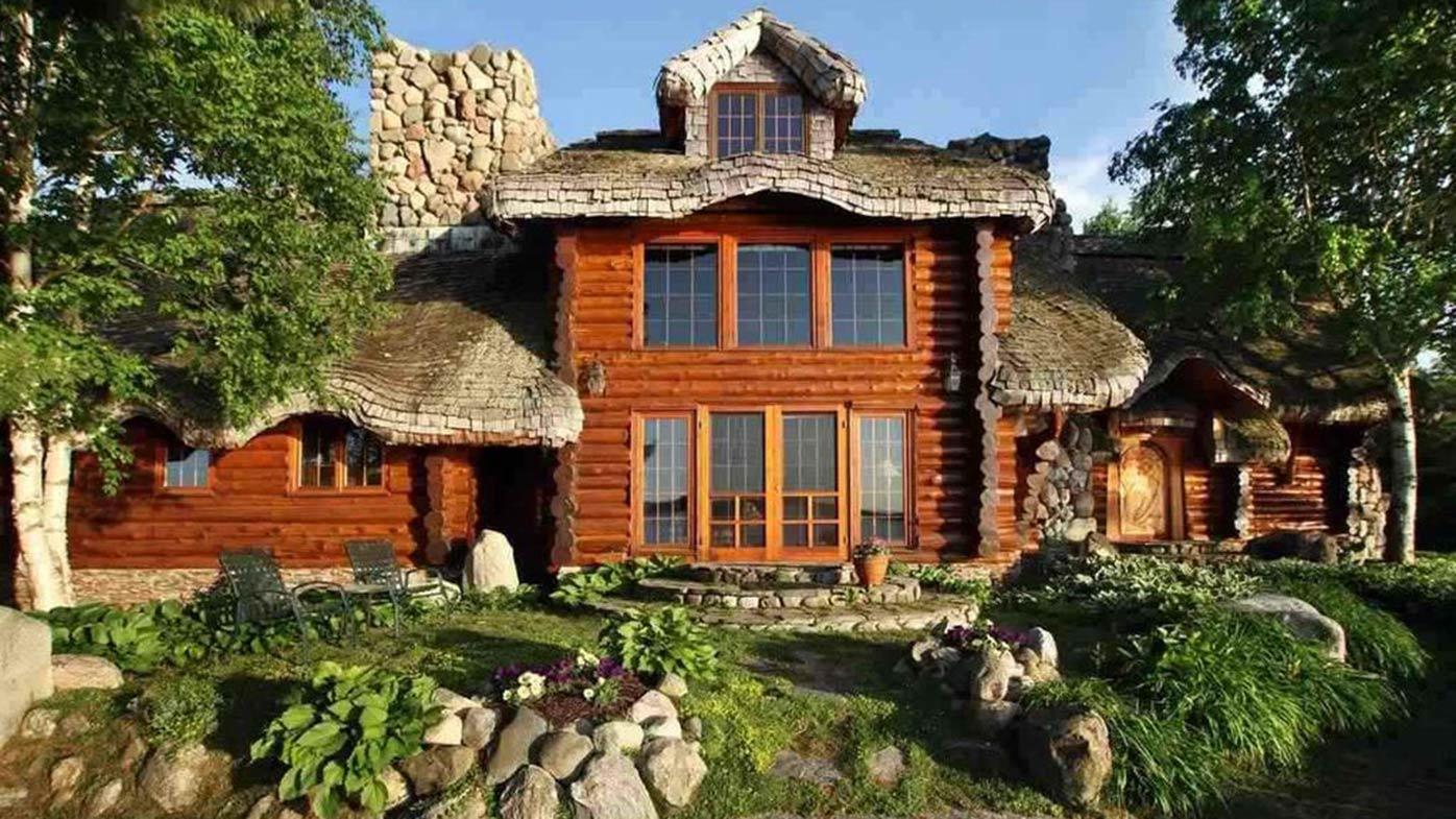 Wood for Hobbit inspired house
