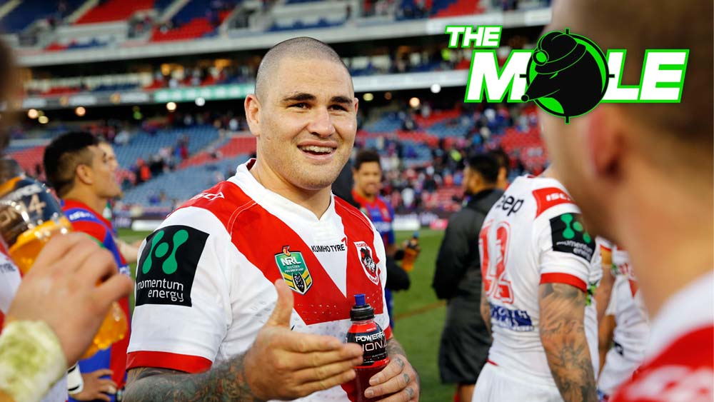 Prop Russell Packer could leave St George Illawarra Dragons