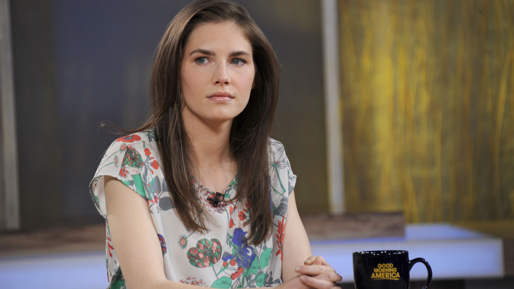 Amanda Knox speaks out about Donald Trump after he publicly supported her
