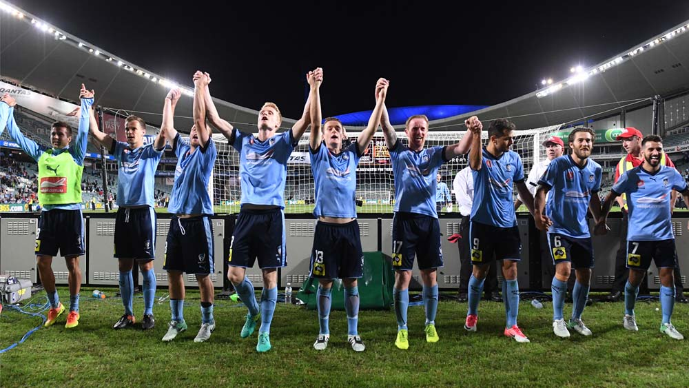 Sydney FC players. (AAP)
