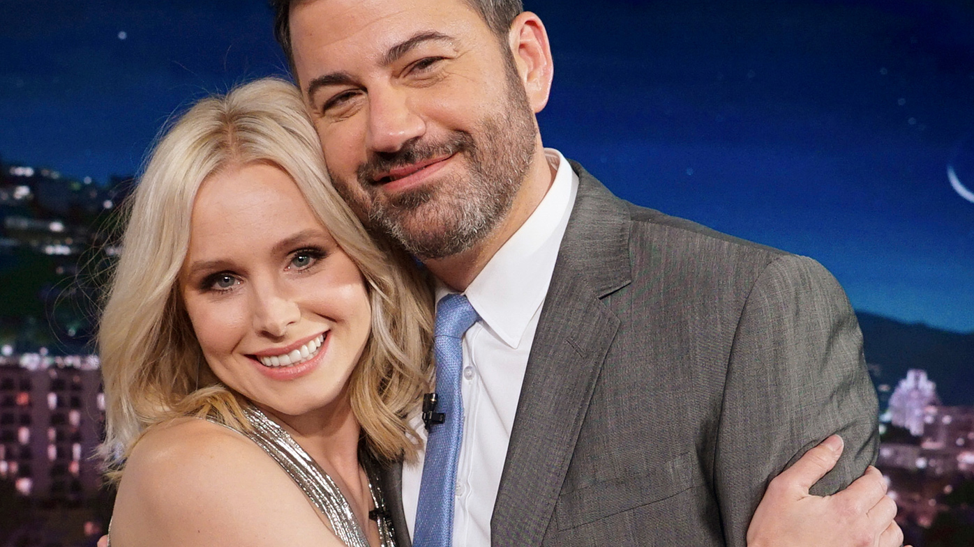 Kristen Bell Sets Up 'Frozen' Promposal on 'Jimmy Kimmel Live'