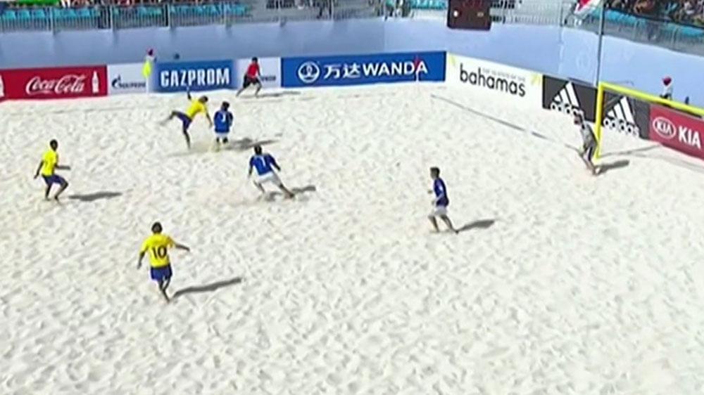 Tahiti lose Beach Soccer World Cup final