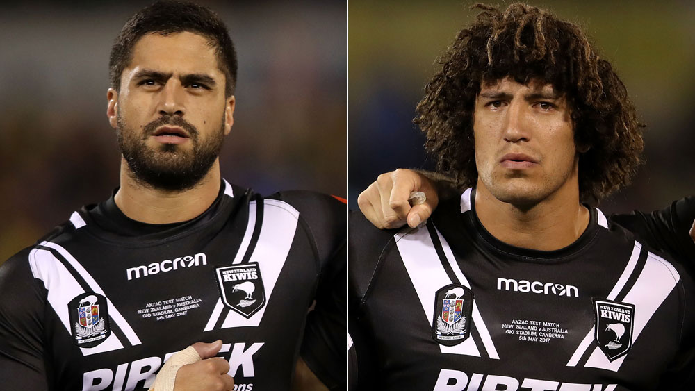 Jesse Bromwich (l) and Kevin Proctor.