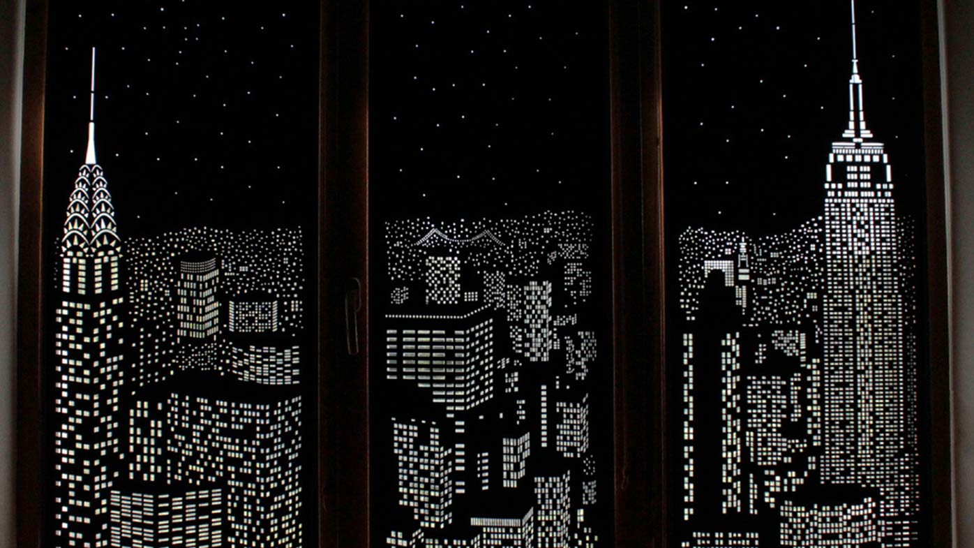 Blackout curtains will transport you to another place Blackout curtains city skyline