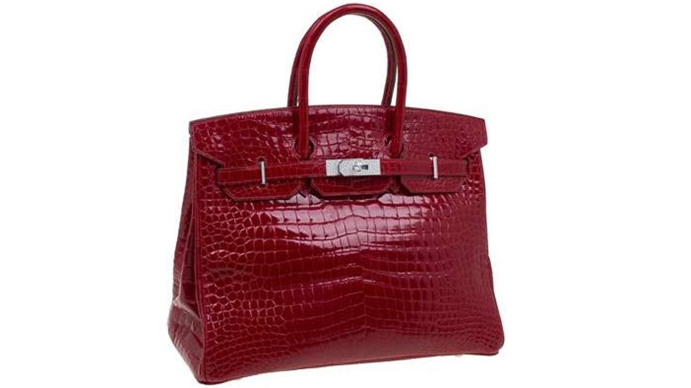<strong>Crocodile skin Hermes Birkin bag for $183,000</strong>